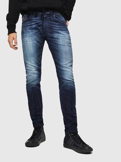 Diesel - Thommer JoggJeans 069IE, Bleu Foncé - Jeans - Image 1