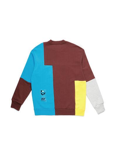 Diesel - D-TAGLIA&CUCI, Multicolore - Pull Cotton - Image 2