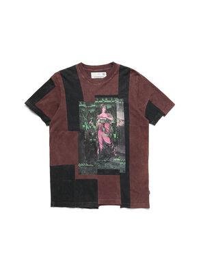 D-FRANK&STEIN, Bordeaux - T-Shirts