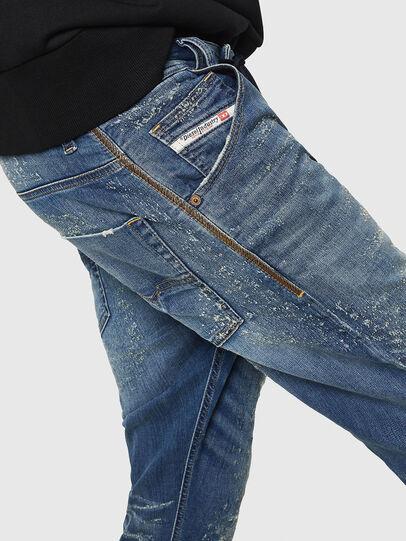 Diesel - Krooley JoggJeans 069HG, Bleu moyen - Jeans - Image 4