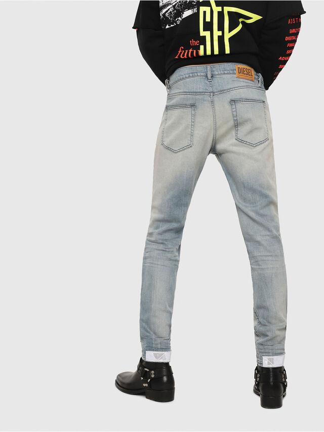 Diesel - D-Strukt 081AP, Bleu Clair - Jeans - Image 2