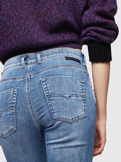 Diesel - Krailey JoggJeans 069IH, Bleu Clair - Jeans - Image 5