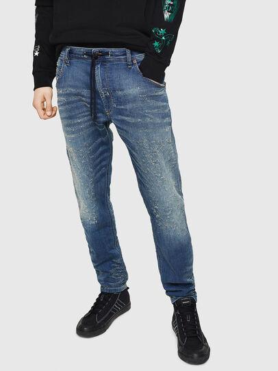Diesel - Krooley JoggJeans 069HG, Bleu moyen - Jeans - Image 1