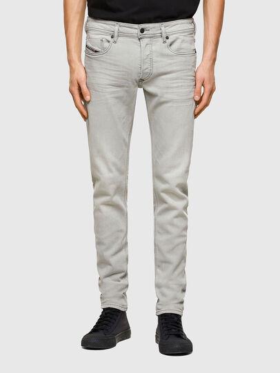 Diesel - Sleenker 009PY, Gris Clair - Jeans - Image 1