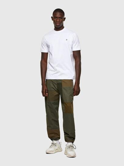 Diesel - T-JUSTY, Blanc - T-Shirts - Image 4