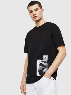 T-JUST-T18, Noir - T-Shirts