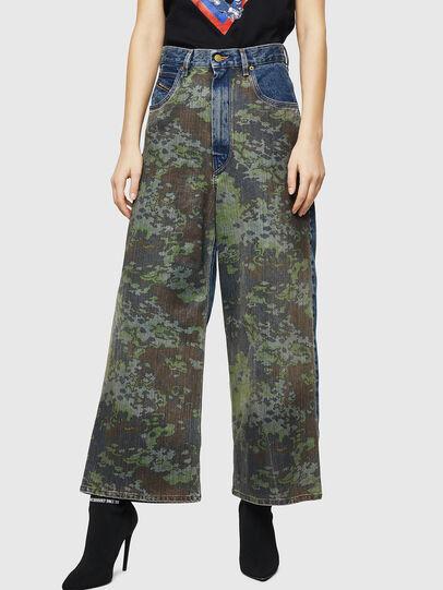 Diesel - D-Luite 0078E, Bleu moyen - Jeans - Image 1