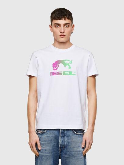 Diesel - T-DIEGOS-E30, Blanc - T-Shirts - Image 1