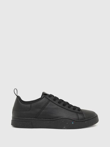 Sneakers basses Green Label en cuir régénéré
