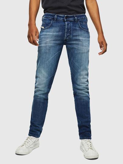Diesel - D-Bazer 0097Y, Bleu moyen - Jeans - Image 1