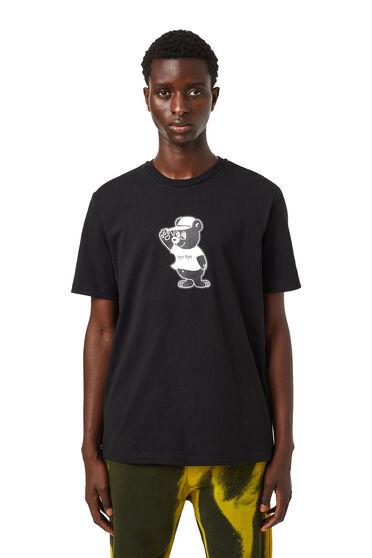 T-shirt avec imprimé ours
