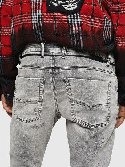 Diesel - Krooley JoggJeans 0091H, Gris Clair - Jeans - Image 5