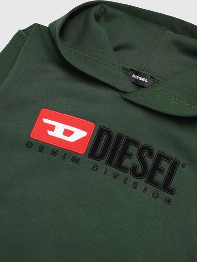 Diesel - SDIVISION OVER, Vert Foncé - Pull Cotton - Image 3