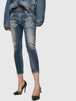 Fayza JoggJeans 0890A, Bleu Clair - Jeans