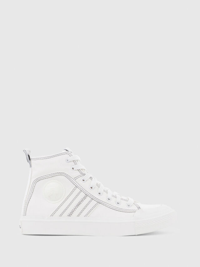 Diesel - S-ASTICO MID LACE W, Blanc - Baskets - Image 1