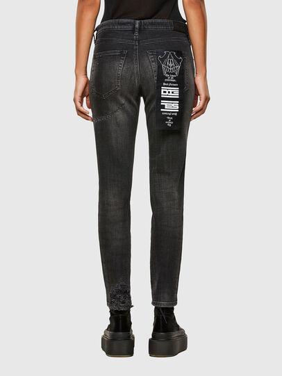 Diesel - Babhila 009JN, Noir/Gris foncé - Jeans - Image 2