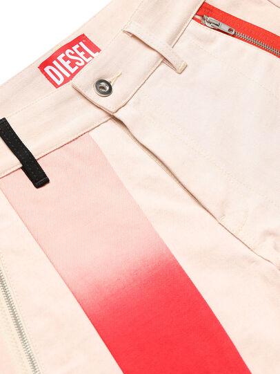 Diesel - GR02-P303-P, Blanc - Shorts - Image 3