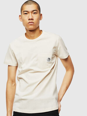 T-WORKY-MOHI, Blanc - T-Shirts