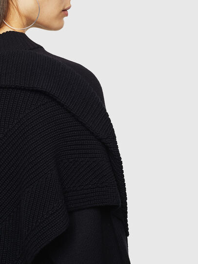 Diesel - M-TESY, Noir - Pull Maille - Image 3