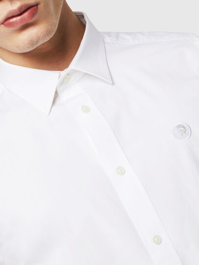 Diesel - S-BILL, Blanc - Chemises - Image 3