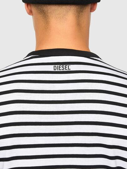 Diesel - T-DIEGOSCO, Noir - T-Shirts - Image 4