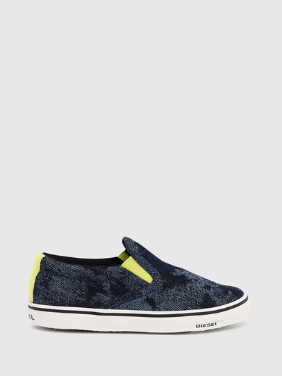 Diesel - SN SLIP ON 01 LC CH, Bleu - Footwear - Image 1