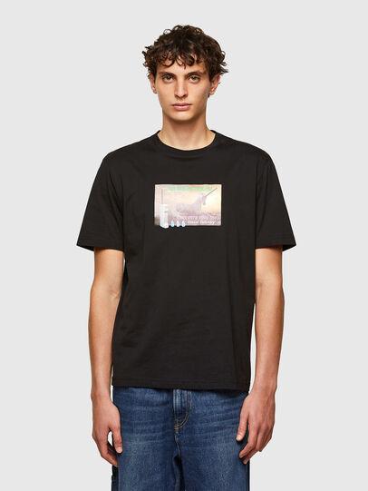 Diesel - T-JUST-A34, Noir - T-Shirts - Image 1