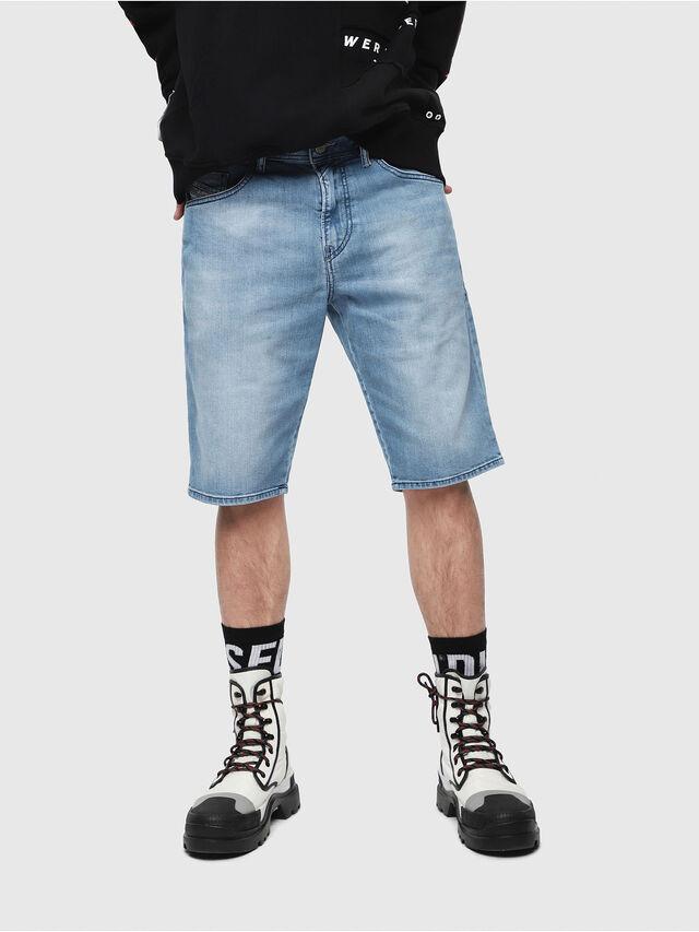 Diesel - THOSHORT, Bleu Clair - Shorts - Image 1