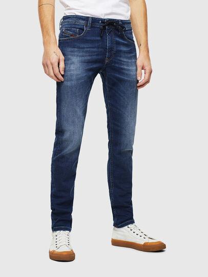Diesel - Thommer JoggJeans 088AX, Bleu Foncé - Jeans - Image 1