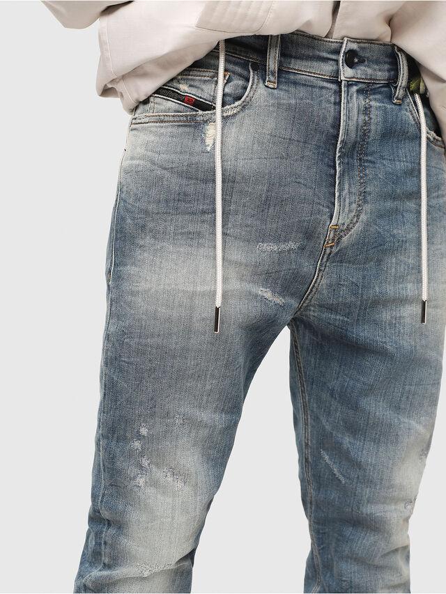 Diesel - D-Vider JoggJeans 087AD, Bleu moyen - Jeans - Image 3