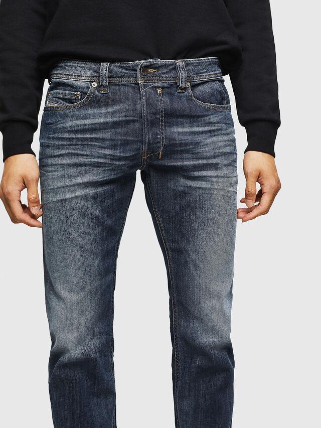 Diesel - Safado 0885K, Bleu Foncé - Jeans - Image 3
