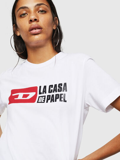 Diesel - LCP-T-DIEGO-CASA, Blanc - T-Shirts - Image 5