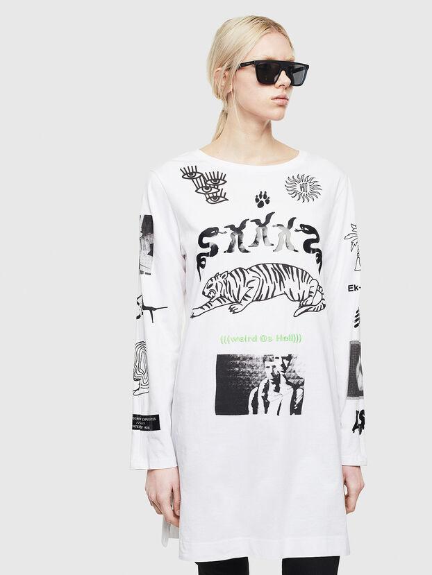T-ROSY-A, Blanc - T-Shirts