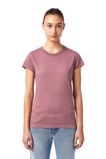 T-shirt avec broderie ton sur ton