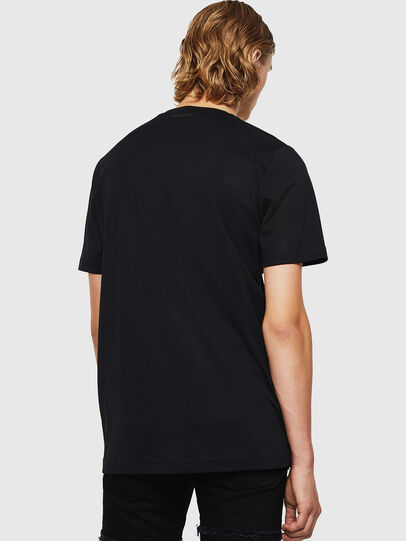 Diesel - TY-X1, Noir - T-Shirts - Image 2
