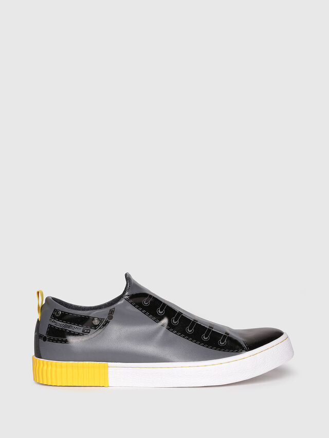 Diesel - S-DIESEL IMAGINEE LOW, Gris foncé - Baskets - Image 1