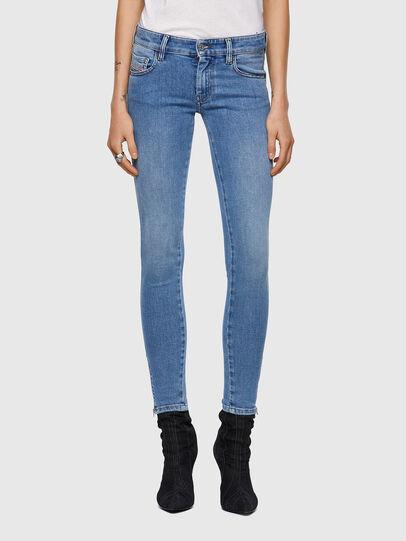 Diesel - Slandy Low 009ZY, Bleu Clair - Jeans - Image 1