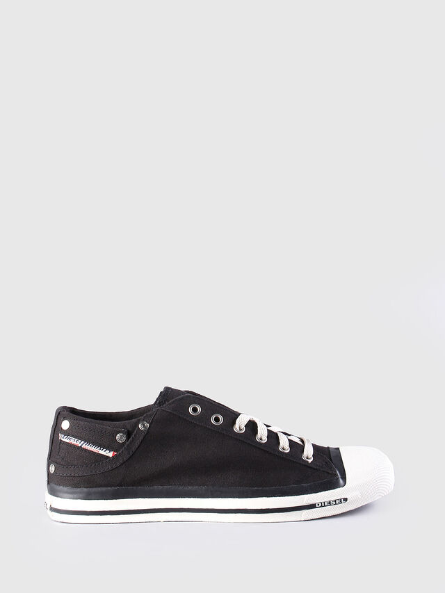 Diesel - EXPOSURE LOW, Noir - Baskets - Image 1