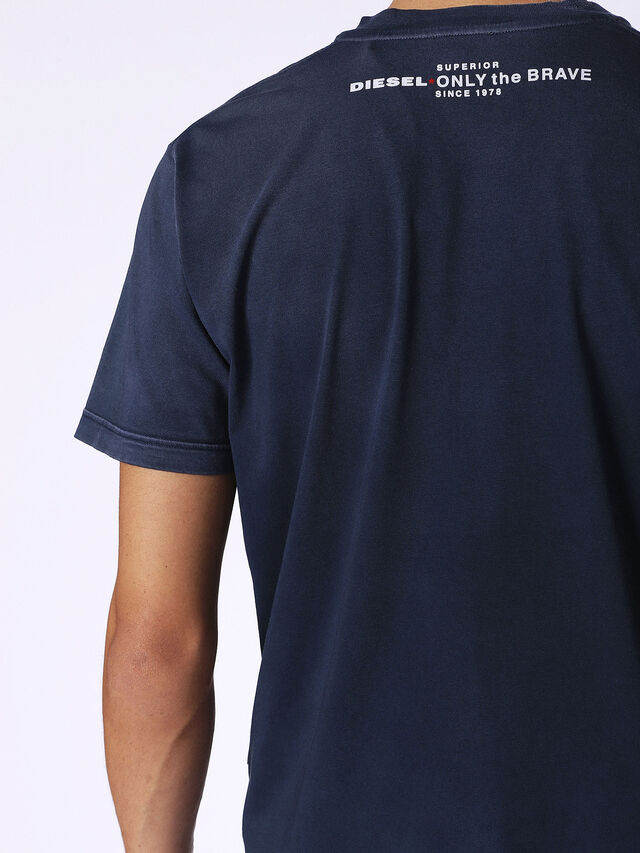 Diesel - T-KEITHS, Bleu - T-Shirts - Image 2