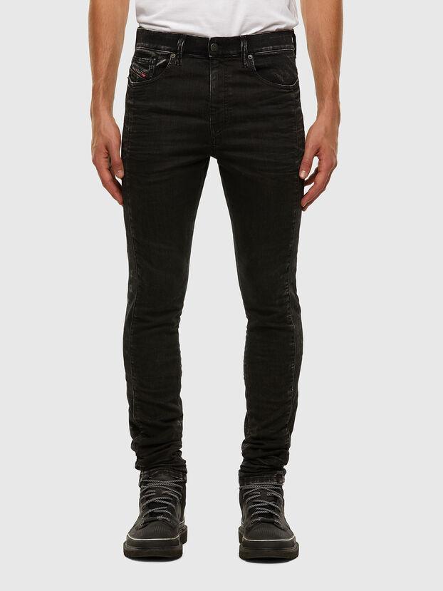 D-Reeft JoggJeans 009FY, Noir/Gris foncé - Jeans