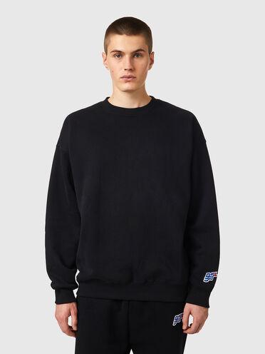 Sweat-shirt avec empiècement ondulé DSL