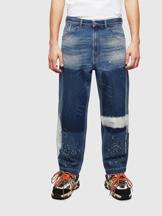 D-Franky 009CB, Bleu moyen - Jeans