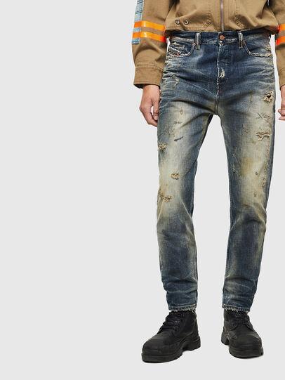 Diesel - D-Vider 0098S, Bleu moyen - Jeans - Image 1