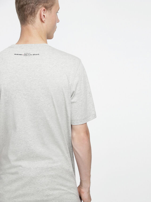 Diesel - T-JUST-XV, Gris - T-Shirts - Image 2