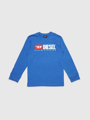 TJUSTDIVISION ML, Bleu Céleste - T-shirts et Hauts