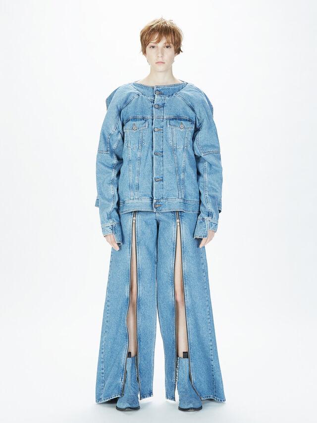Diesel - SOWL01, Bleu Clair - Pantalons - Image 7