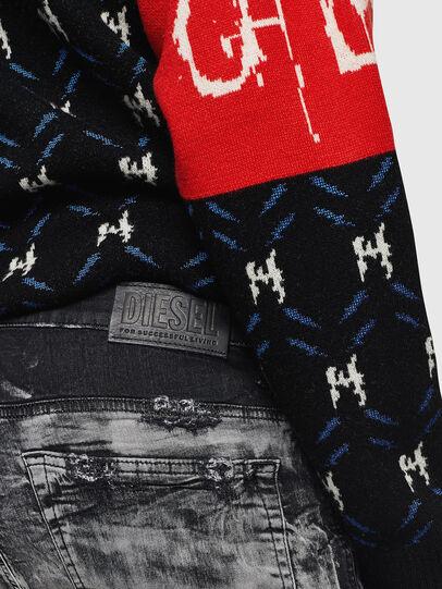 Diesel - D-Reeft JoggJeans 084AH, Noir/Gris foncé - Jeans - Image 5