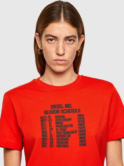 Diesel - T-DIEGOS-A11, Orange - T-Shirts - Image 3