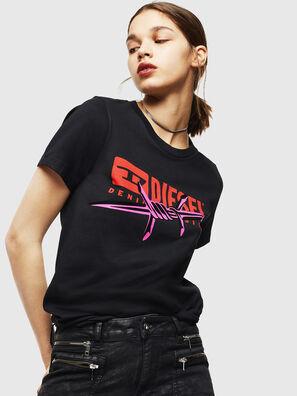 T-SILY-ZC, Noir - T-Shirts