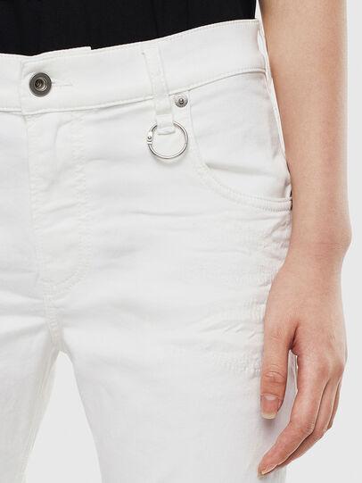 Diesel - Krailey JoggJeans 069DS, Blanc - Jeans - Image 3